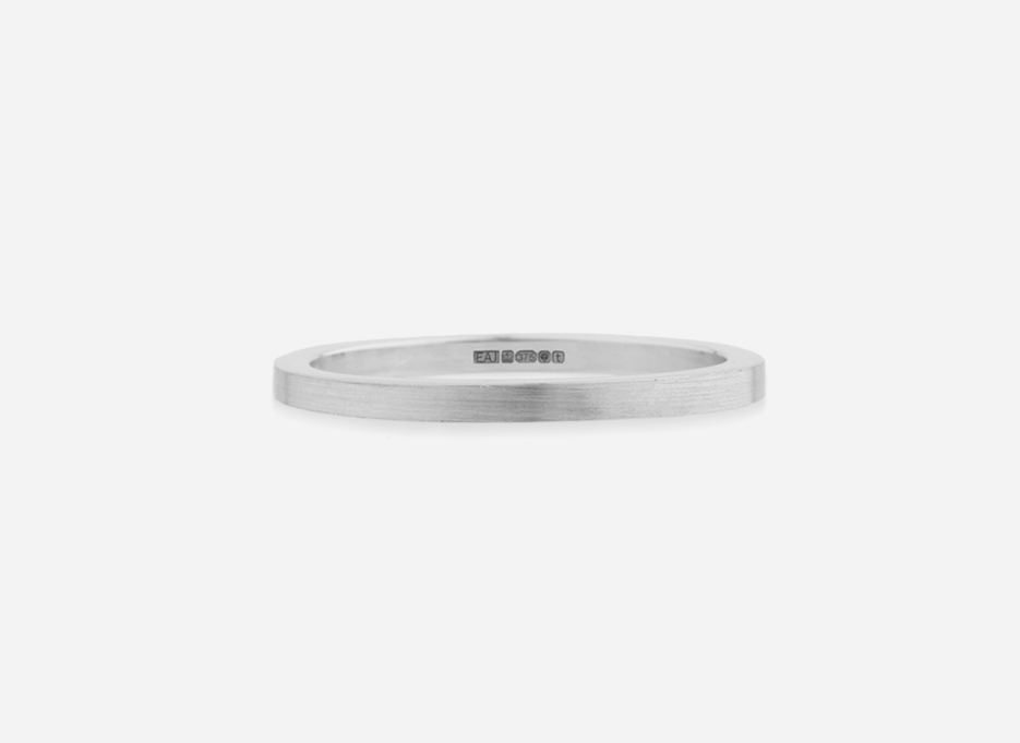 Classic Band 15 - Wedding Ring in Silver