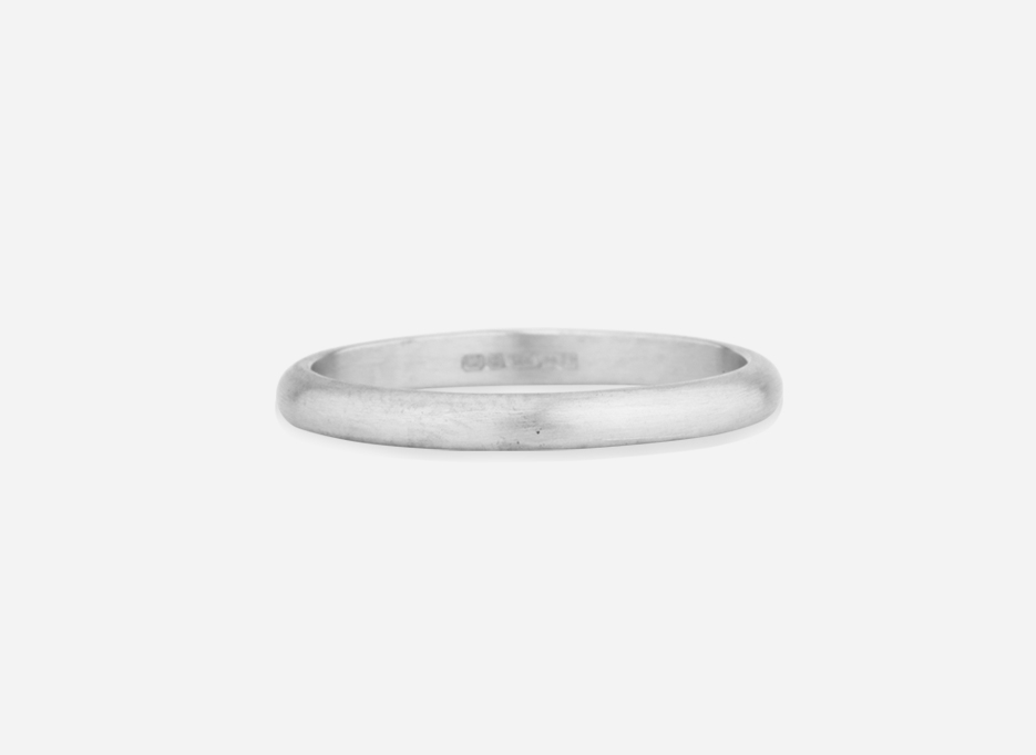 Unity Band 2.0 - Wedding Ring in Silver