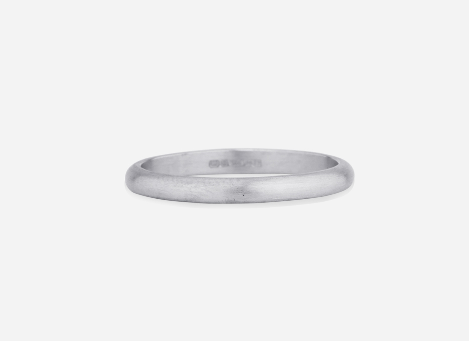 Unity Band 2.0 - Wedding Ring in White Gold