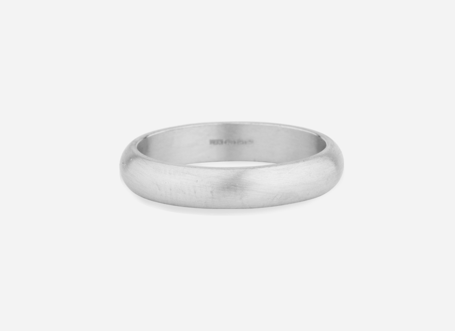 Unity Band 4.0 - Wedding Ring in Silver