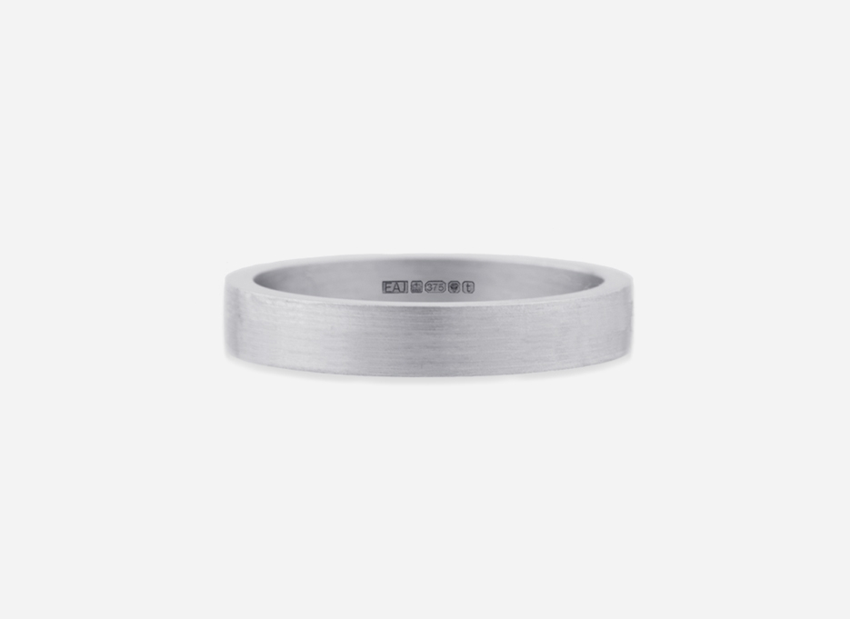 Classic Band 40 - Wedding Ring in White Gold